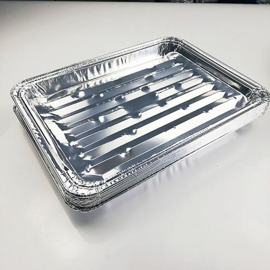 Aluminum foil plates for camping