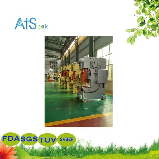 Aluminum Foil Container production Punching Machine