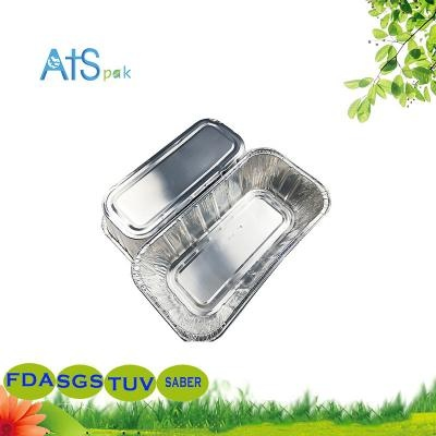 Disposable residential aluminum foil storage container